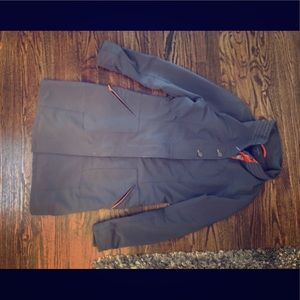 Title Nine Knee Length Trench/Jacket